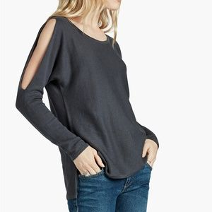 Lucky Brand Cashmere Blend Dressy Pullover Sweater